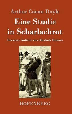Eine Studie in Scharlachrot (Hardback)