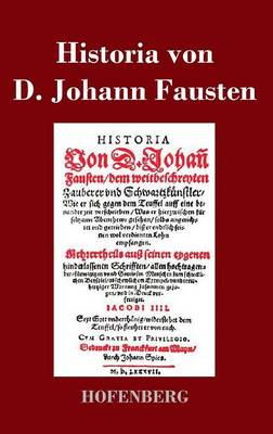 Historia Von D. Johann Fausten (Hardback)