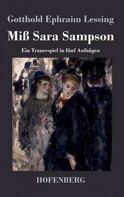 Miss Sara Sampson (Hardback)