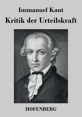 Kritik Der Urteilskraft (Paperback)