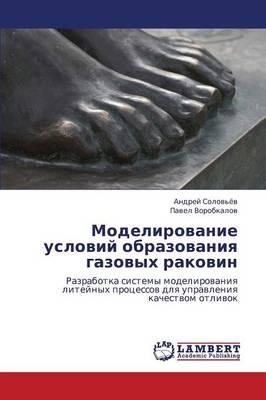 Modelirovanie Usloviy Obrazovaniya Gazovykh Rakovin (Paperback)