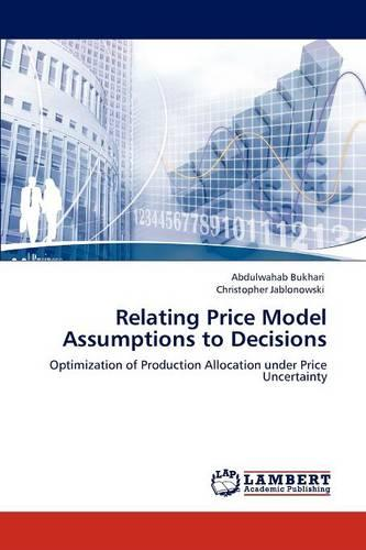 Relating Price Model Assumptions to Decisions (Paperback)
