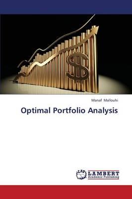 Optimal Portfolio Analysis (Paperback)