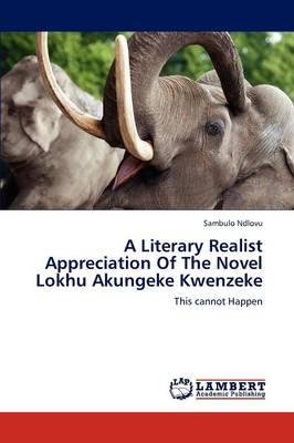 A Literary Realist Appreciation of the Novel Lokhu Akungeke Kwenzeke (Paperback)