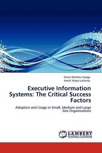 Executive Information Systems: The Critical Success Factors (Paperback)