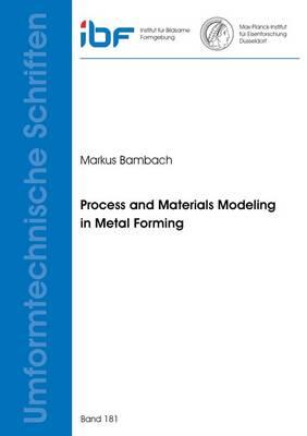 Process and Materials Modeling in Metal Forming - Umformtechnische Schriften 181 (Paperback)