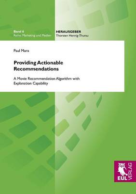 Providing Actionable Recommendations (Paperback)