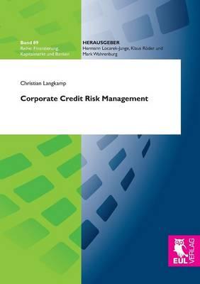 Corporate Credit Risk Management (Paperback)