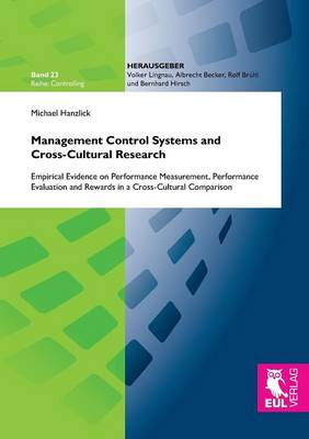 Management Control Systems and Cross-Cultural Research (Paperback)