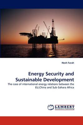 Energy Security and Sustainable Development (Paperback)