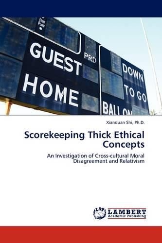 Scorekeeping Thick Ethical Concepts (Paperback)