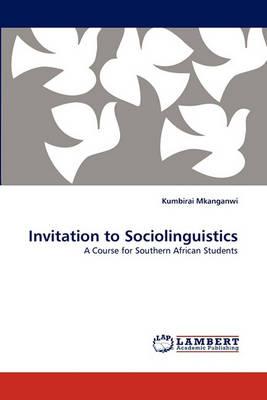 Invitation to Sociolinguistics (Paperback)