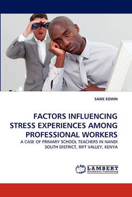 Factors Influencing Stress Experiences Among Professional Workers (Paperback)