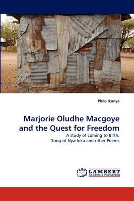 Marjorie Oludhe Macgoye and the Quest for Freedom (Paperback)