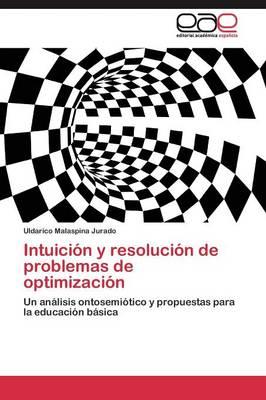 Intuicion y Resolucion de Problemas de Optimizacion (Paperback)
