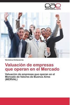 Valuacion de Empresas Que Operan En El Mercado (Paperback)