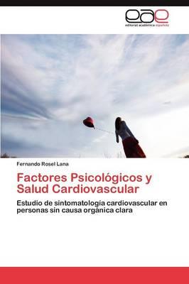 Factores Psicologicos y Salud Cardiovascular (Paperback)