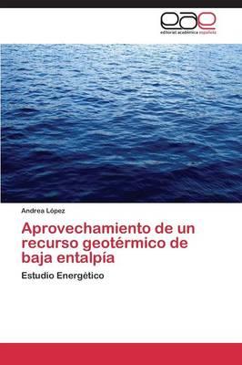 Aprovechamiento de Un Recurso Geotermico de Baja Entalpia (Paperback)