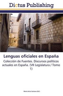 Lenguas Oficiales En Espana (Paperback)