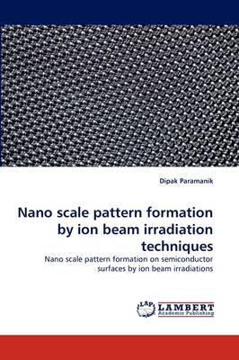Nano Scale Pattern Formation by Ion Beam Irradiation Techniques (Paperback)