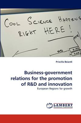 Business-Government Relations for the Promotion of R&d and Innovation (Paperback)