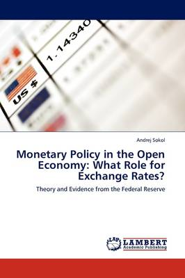 Monetary Policy in the Open Economy: What Role for Exchange Rates? (Paperback)
