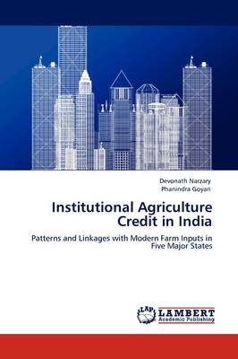 Institutional Agriculture Credit in India (Paperback)