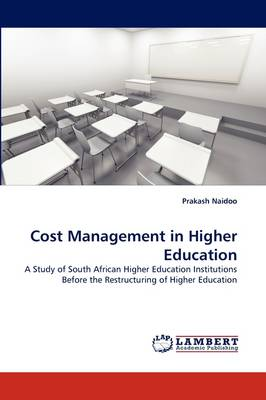 Cost Management in Higher Education (Paperback)
