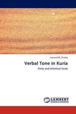 Verbal Tone in Kuria (Paperback)