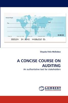 A Concise Course on Auditing (Paperback)