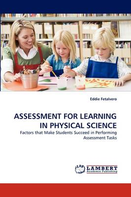 Assessment for Learning in Physical Science (Paperback)