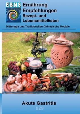 Ernahrung Bei Akute Gastritis (Paperback)