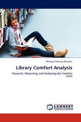 Library Comfort Analysis (Paperback)