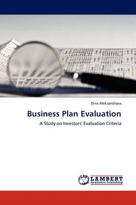 Business Plan Evaluation (Paperback)