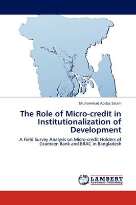 The Role of Micro-Credit in Institutionalization of Development (Paperback)
