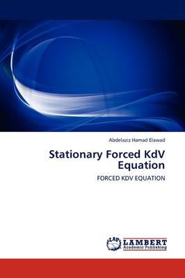 Stationary Forced Kdv Equation (Paperback)