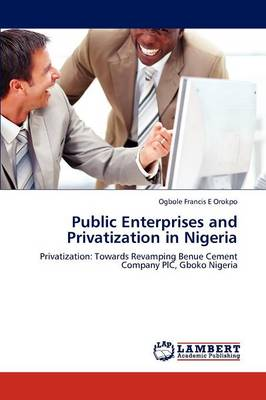 Public Enterprises and Privatization in Nigeria (Paperback)