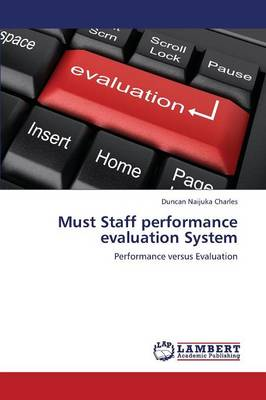 Must Staff Performance Evaluation System (Paperback)