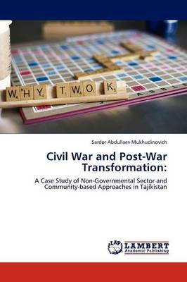 Civil War and Post-War Transformation (Paperback)