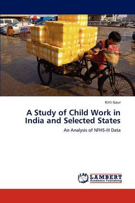 A Study of Child Work in India and Selected States (Paperback)