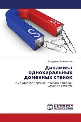 Dinamika Odnokhiral'nykh Domennykh Stenok (Paperback)