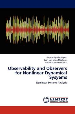Observability and Observers for Nonlinear Dynamical Sysyems (Paperback)