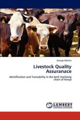 Livestock Quality Assuranace (Paperback)