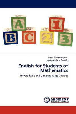 English for Students of Mathematics (Paperback)
