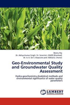 Geo-Environmental Study and Groundwater Quality Assessment (Paperback)