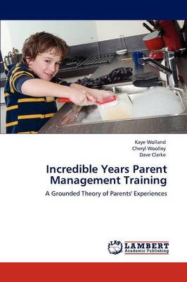 Incredible Years Parent Management Training (Paperback)