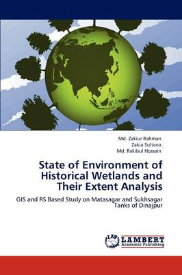 State of Environment of Historical Wetlands and Their Extent Analysis (Paperback)