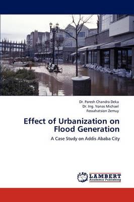 Effect of Urbanization on Flood Generation (Paperback)