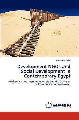 Development Ngos and Social Development in Contemporary Egypt (Paperback)