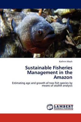 Sustainable Fisheries Management in the Amazon (Paperback)